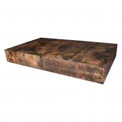 Aldo Tura Parchment Low Table