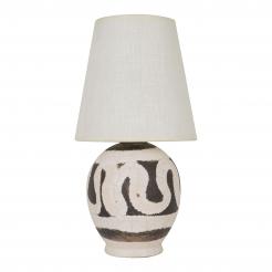 Small Jean Besnard ceramic lamp