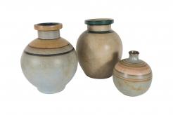 Set of Lourioux Ceramic Vases