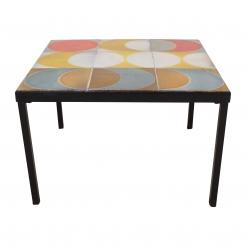 Roger Capron Tile Table