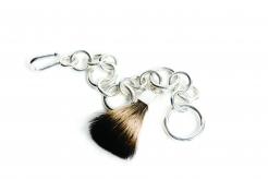 Jean Grisoni Silver Link Bracelet with Maarten Brush
