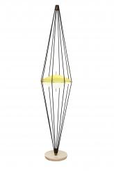 Rare Floor Lamp by Angelo Lelli for Arredoluce model 12628