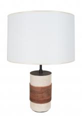 Keramos Ceramic French Table Lamp by Robert Mathieu