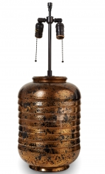 Black & Gold Deco Lamp, Boulogne
