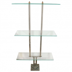 Three-Tier Glass Etagere 'Siegel Paris'
