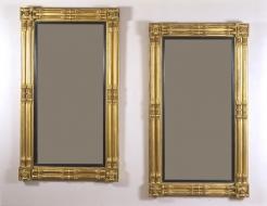 Pair Neo-Classical Pier Mirrors