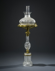 Clear Glass Sinumbra Lamp