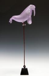 Purple Walrus Balloon