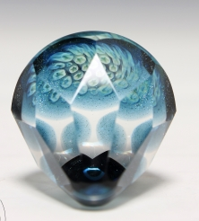 Faceted Milli Pyramid Paperweight