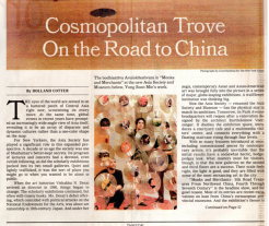 A Cosmopolitan Trove by Holland Cotter