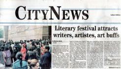 Literary fesitval attracts writers, artistes, art buffs by Meeran Karim