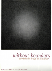 Museum of Modern Art, Without Boundary, 17 ways of looking