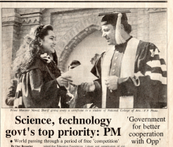 Science, technology, govt's top priority: PM