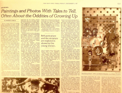 Paintings and Photos With Tales to Tell, Often About the Oddities of Growing Up by Roberta Smith