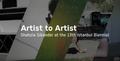 "Shahzia Sikander at the 13th Istanbul Biennial | Art21 ""Artist to Artist"""