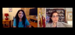 Asia Talks: Artist Shahzia Sikander with Laila Kazmi