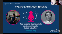 At Home With Shahzia Sikander