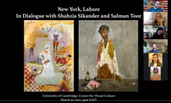 New York, Lahore: In Dialogue with Shahzia Sikander and Salman Toor