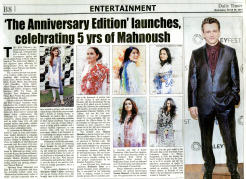 'The Anniversary Edition' launches celebrating 5 yrs of Mahnoush