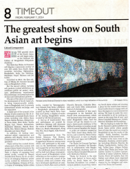 The greatest show on South Asia Art begins