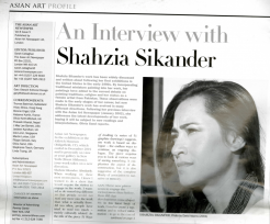 Interview Shahzia Sikander