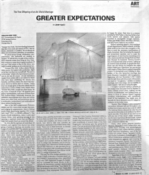 Greater Expectations by Jerry Saltz