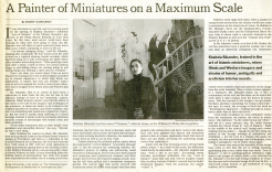 A Painter of Miniatures on a Maximum Scale by Barry Schwabsky