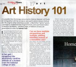 Art History 101 by Salman Toor