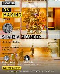 Artist talk by Shahzia Sikander