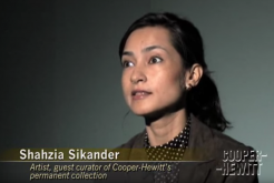 Shahzia Sikander and Glenn Lowry in Conversation
