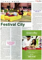 Festival City by Fayes T. Kantawala