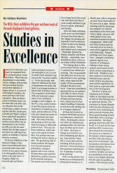 Studies in Excellence by Salima Hashmi