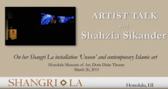 Artist Talk with Shahzia Sikander