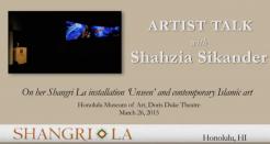 Artist Talk with Shahzia Sikander