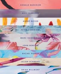 BRINTZ GALLERY, FLORA CATALOG COVER, FLORA EXHIBITION 2019, DONALD BAECHLER, ROSS BLECKNER, ANDRÉ BUTZER, PETRA CORTRIGHT, MARC HANDELMAN, JOHN NEWSOM, RACHEL ROSSIN, JULIAN SCHNABEL AND BRIAN WILLMONT