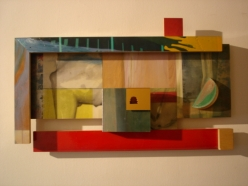 Sam Gilliam (1933- ) Horse c. 1995 acrylic on birch