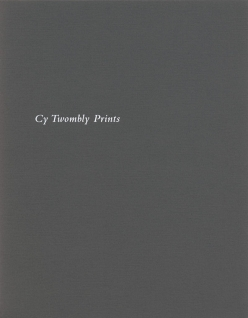 Cy Twombly Prints