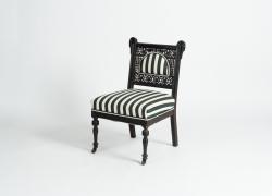 American Aesthetic Movement Slipper Chair