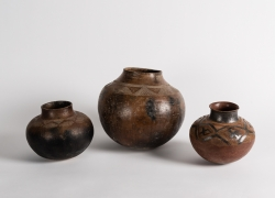 Trio of Ceramic Water Jugs