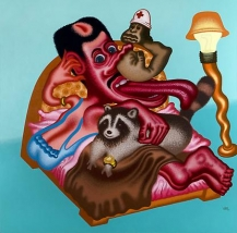 Peter Saul at the Blanton Museum of Art
