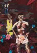 Wardell Milan at the Montclair Art Museum - Constructing Identity in America (1776-2017)