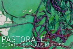 "Carroll Dunham and Alexander Ross in ""Pastorale,"" curated by Klaus Kertess"