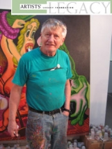 Peter Saul: recipient of The Artists' Legacy Foundation Award 2008