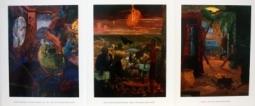 James McGarrell 1989 Exhibition Announcement