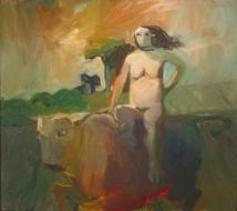 Elmer Bischoff, 'Europa,' 1957