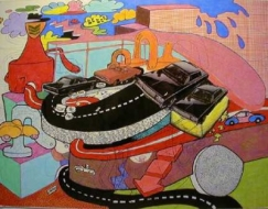 Peter Saul: Prints and Drawings, 1960-1975