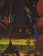 Exhibition Announcement picturing James McGarrell, Melusine del Gufo 1989