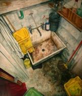Amer Kobaslija, 'Janitor's Closet II,' 2007