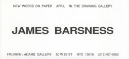 James Barsness 1994 Exhibition Announcement