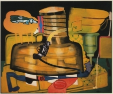 Peter Saul: Early Paintings and Related Drawings, 1960-1964